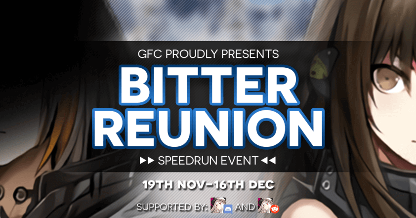 Community Speedrun Event – Bitter Reunion!